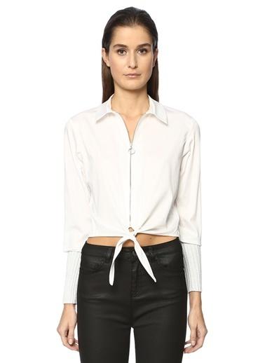 Que Gömlek Beyaz